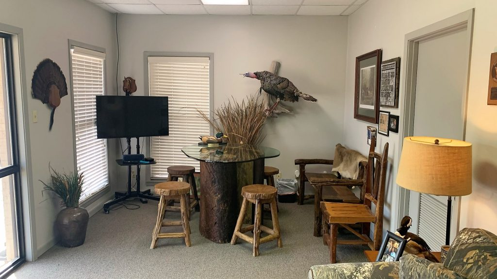 Mossy Oak Properties of Louisiana Office Interior