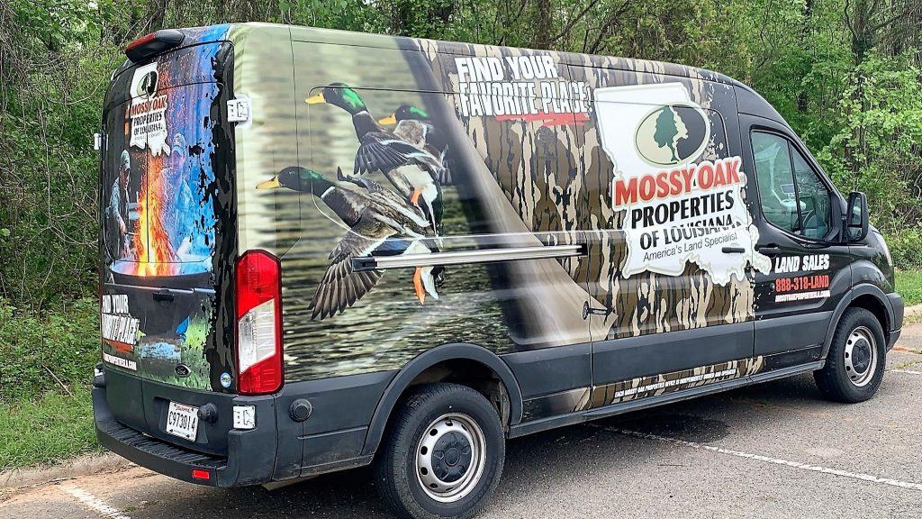 Mossy Oak Properties of Louisiana Van